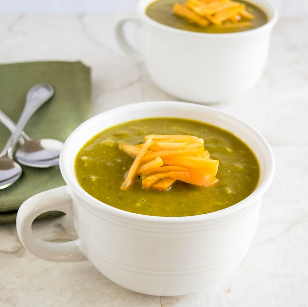 Persimmons Kale Avocado Soup
