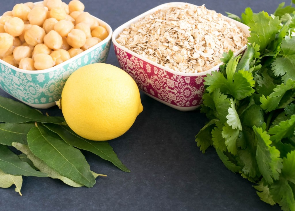 Oats and Chickpeas Pilaf   with 27 g of protein this is a healthy lunch option for all days   kiipfit.com