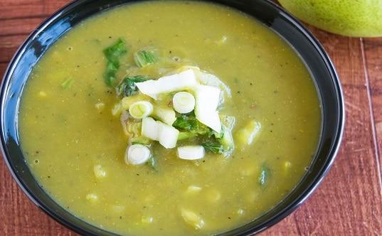 Detox Pear Bok Choy Soup