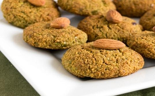 Nutrient Rich Green Peas Cookies