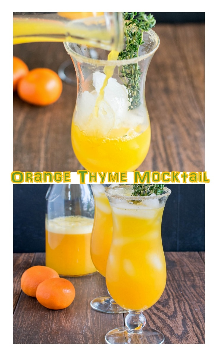 orange thyme mocktail pinterest1