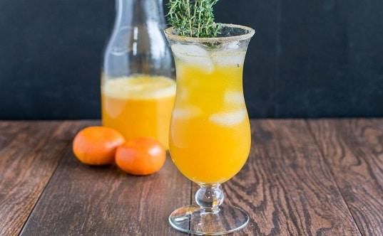 Orange Thyme Mocktail