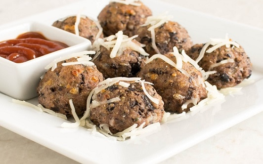 Cheesy Black Bean Bites
