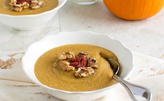 Pumpkin Amaranth Porridge