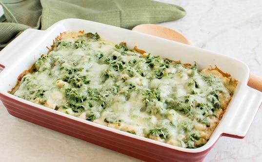 Baked Mustard Green Pasta