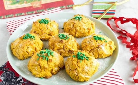 Carrot Sweet Potato Almond Cookies