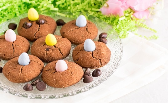 Paleo Chocolate Chip Easter Cookies