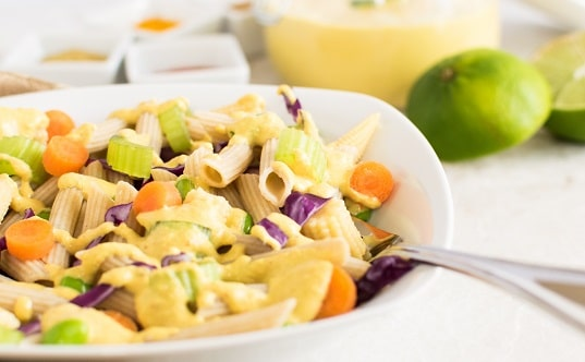 Thai Curry Pasta Salad