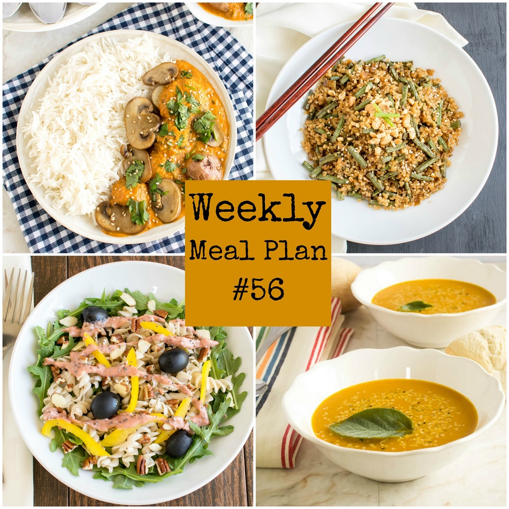 Weekly Meal Plan #56 | healthy vegan and vegetarian recipes | kiipfit.com