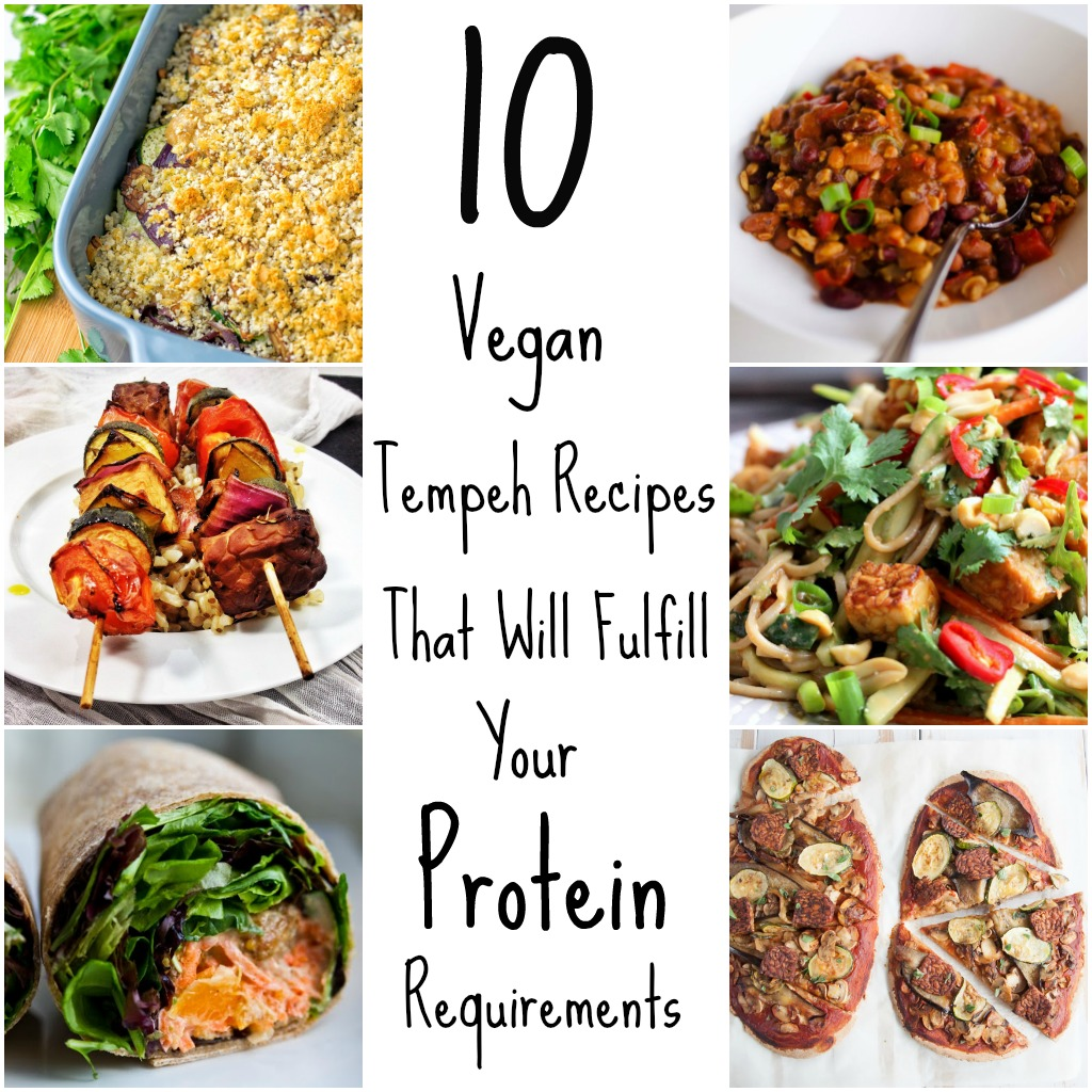 10 Vegan Tempeh Recipes That Will Fulfill Your Protein Requirements | kiipfit.com