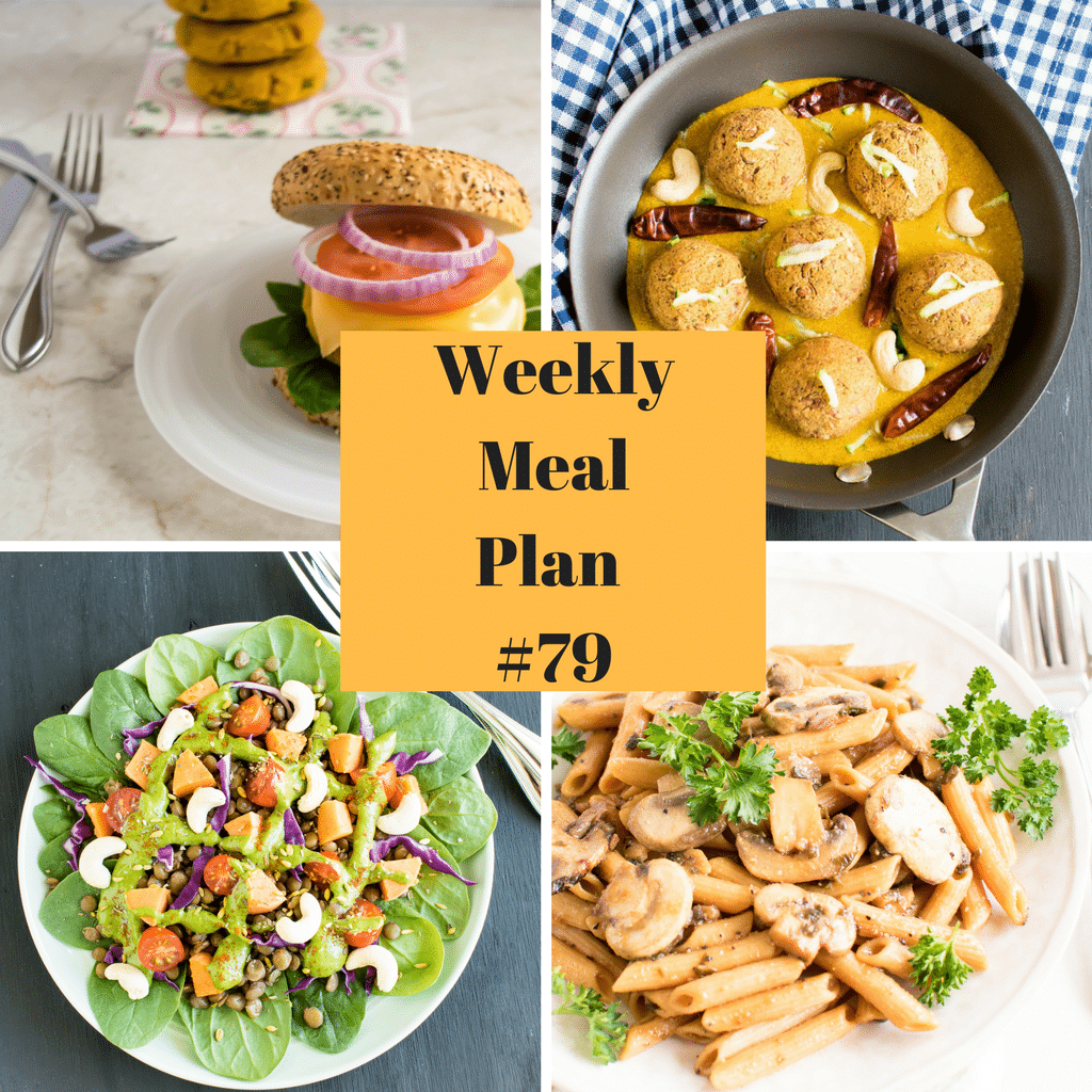 Weekly Meal Plan #79 | healthy vegan and vegetarian recipes | kiipfit.com