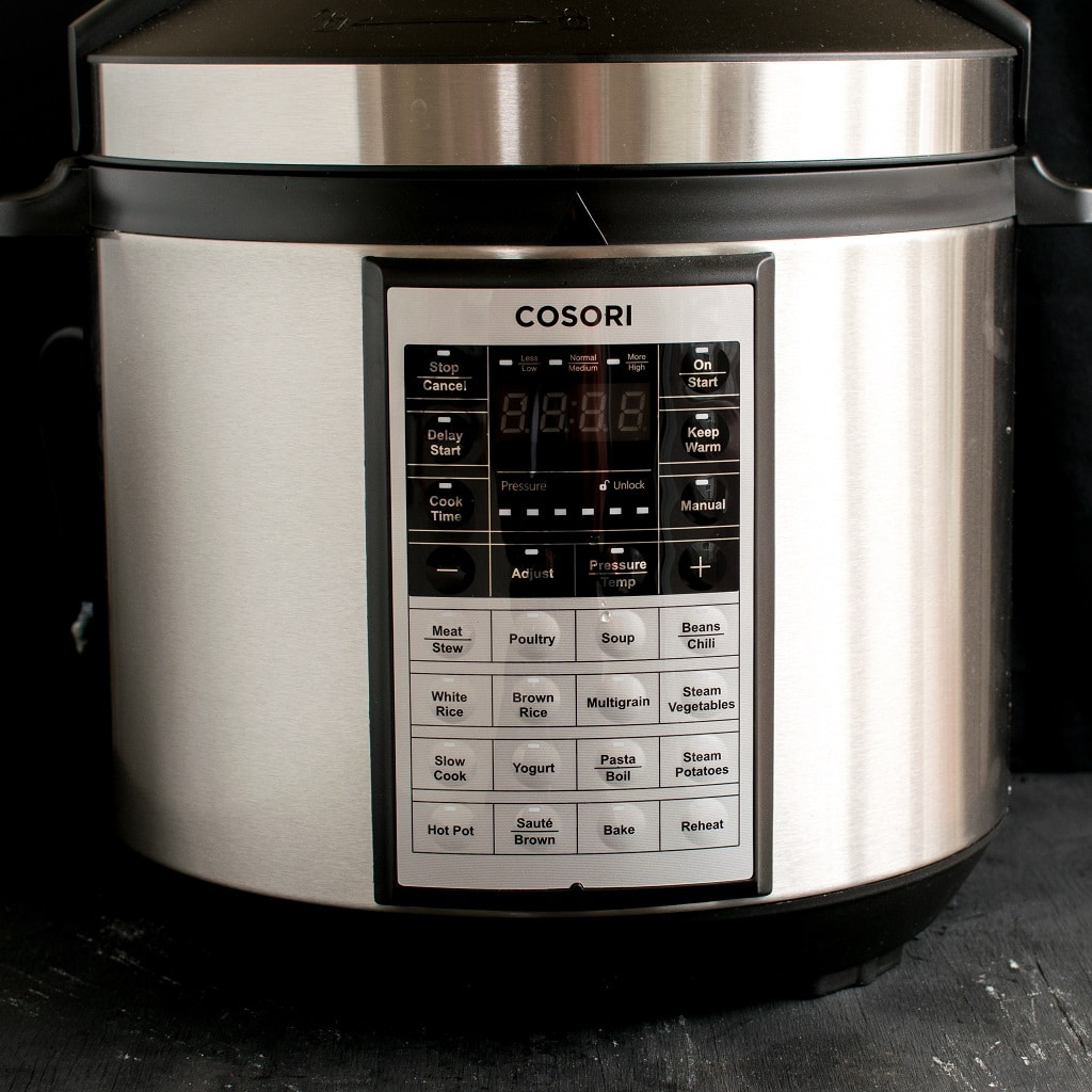 The full view of the pressure cooker/instant pot is shown in this image | kiipfit.com
