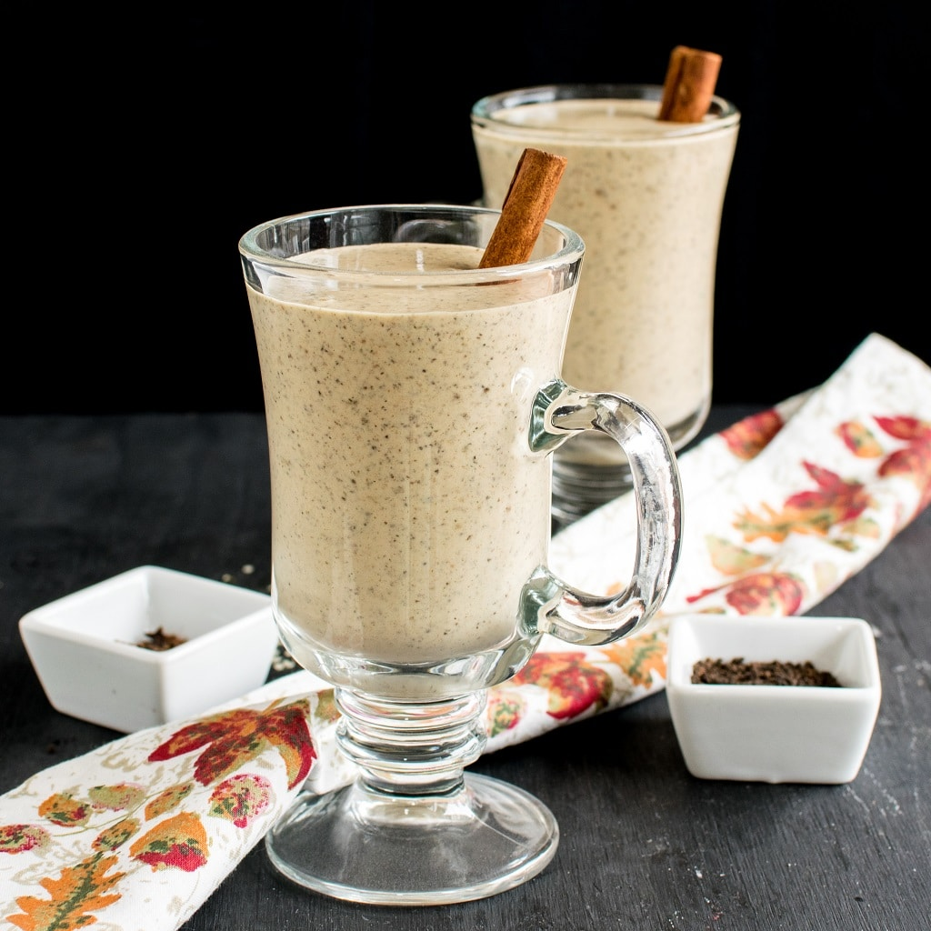 Masala Chai Protein Smoothie is packed with aromatic Indian Chai spices along with natural protein.You would devouring the rich, thick and creamy texture of this smoothie [ vegan + gf + paleo ] kiipfit.com