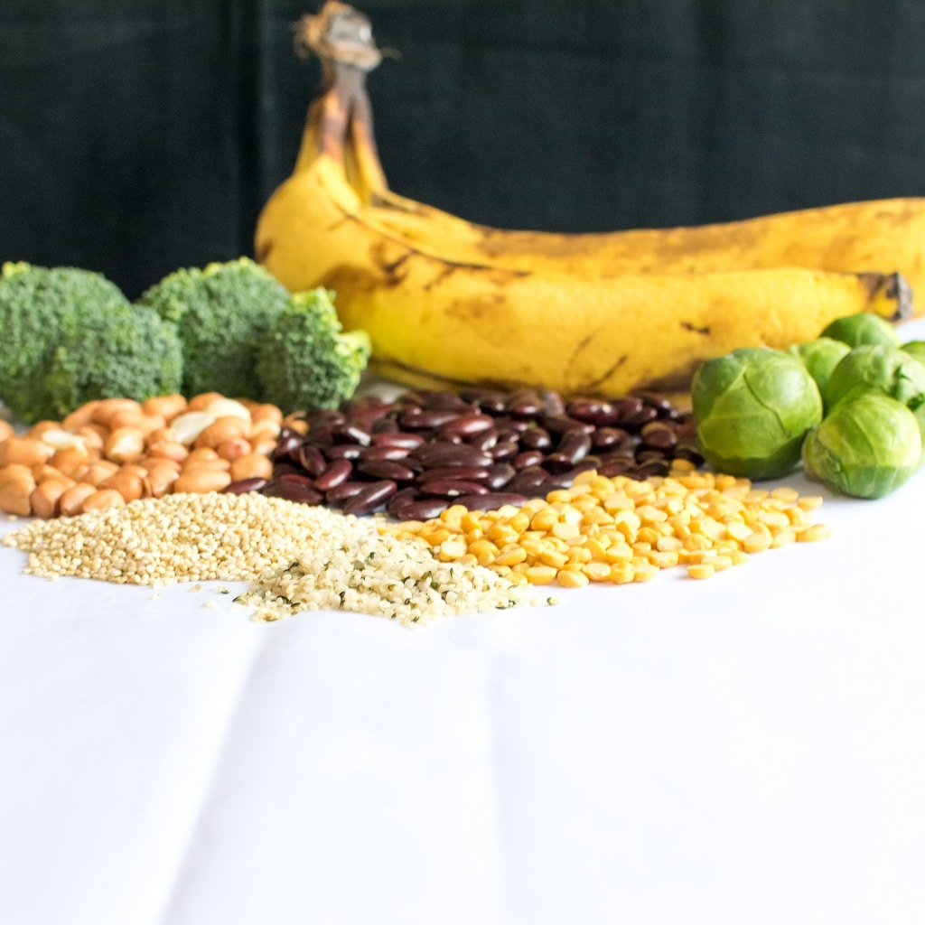 Whats The Hype for Protein in vegan Diet shows the sources of protein that are easily available | kiipfit.com